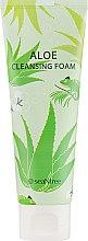 Духи, Парфюмерия, косметика Успокаивающая пенка для умывания с алоэ - SeaNtree Aloe Cleansing Foam