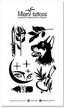 Духи, Парфюмерия, косметика Черные переводные тату - Miami Tattoos Midnight by Sticksandbones