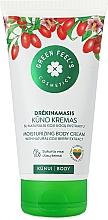 Духи, Парфюмерия, косметика Увлажняющий крем для тела с экстрактом ягод годжи - Green Feel's Body Cream With Natural Goji Berry Extract