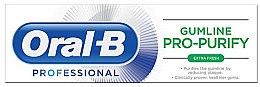 Духи, Парфюмерия, косметика Зубная паста - Oral-B Professional Gumline Pro-Purify Extra Fresh Toothpaste