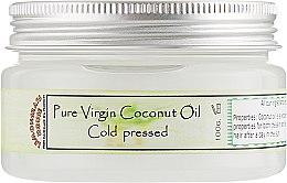 "Чистое масло ""Кокоса холодного отжима"" - Lemongrass House Pure Virging Coconut Oil — фото N1"