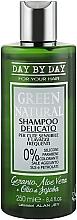 Духи, Парфюмерия, косметика Шампунь деликатный для чувствительной кожи и частого применения - Alan Jey Green Natural Delicate Shampoo