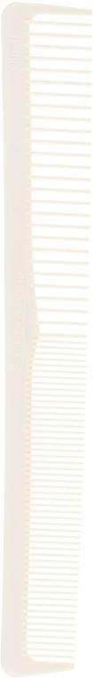 Карбоновая расческа двойная узкая Silkomb с силиконом - Vero Professional