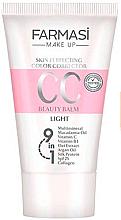 Духи, Парфюмерия, косметика Тонирующий CC-крем 9 в 1 - Farmasi Make Up CC Cream