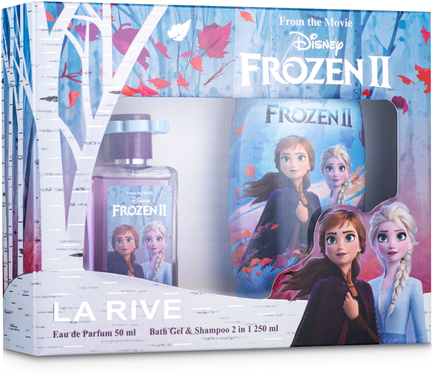 La Rive Frozen - Детский подарочный набор (edp/50ml + sh/gel/250ml)