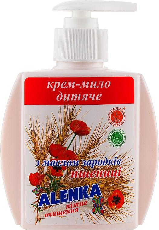 Жидкое крем-мыло с маслом зародышей пшеницы - Alenka