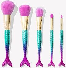Парфумерія, косметика Набір пензлів для макіяжу - Tarte Cosmetics Minutes To Mermaid Brush Set (brysh*5)