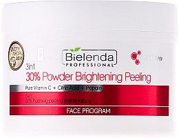 Духи, Парфюмерия, косметика Осветляющий пилинг для лица 3в1 - Bielenda Professional Face Program 30% Powder Brightening Peeling