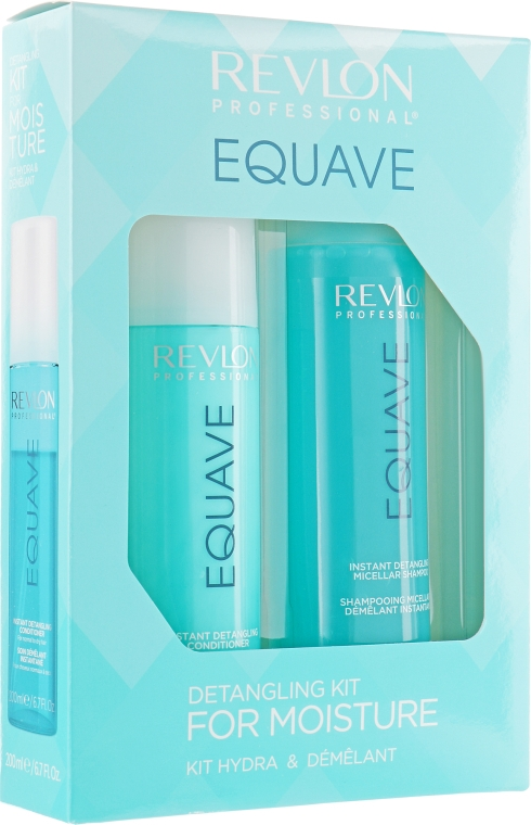 Набор - Revlon Professional Equave Detangling Kit For Moisture (shm/250ml + cond/200ml)
