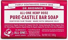 "Духи, Парфюмерия, косметика Мыло ""Роза"" - Dr. Bronner's Pure Castile Bar Soap Rose"