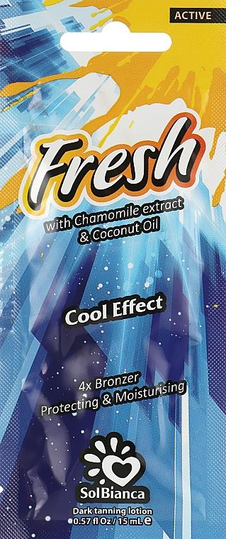 Крем для загара в солярии с экстрактом ромашки - SolBianca Fresh