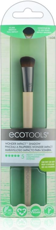Кисть для нанесения теней - Ecotools Wonder Impact Shadow Make-Up
