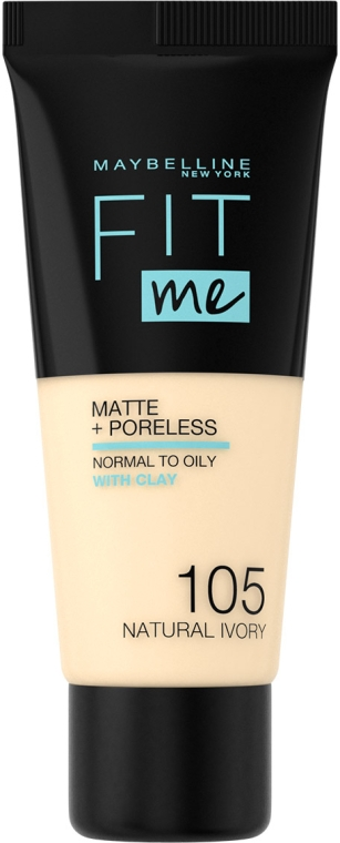 Тональный крем - Maybelline New York Fit Me Matte Poreless Foundation