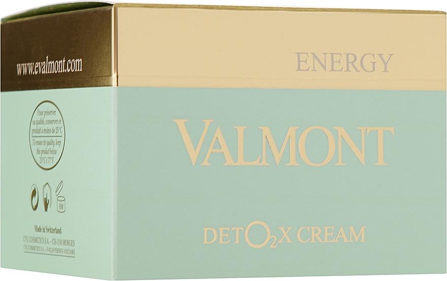 Кислородный крем-детокс для лица - Valmont Deto2x Cream