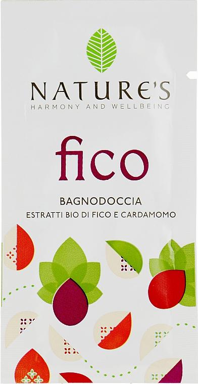 Гель для душа с экстрактом инжира - Nature's Fico Bagnodoccia (пробник)