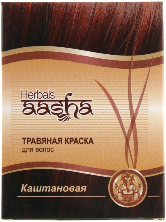 Травяная краска для волос - Aasha Herbals