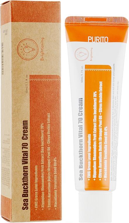 Витаминный крем с облепихой и мандаринами - Purito Sea Buckthorn Vital 70 Cream