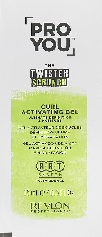 Активатор локонов - Revlon Professional Pro You The Twister Scrunch Curl Activator Gel (пробник)