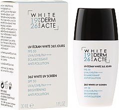 Духи, Парфюмерия, косметика Осветляющий защитный крем 365 дней - Academie White Uv Screen SPF 50