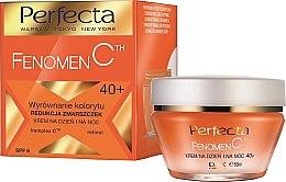 Духи, Парфюмерия, косметика Крем для лица от морщин - Perfecta Fenomen C Cream 40+ Spf 6