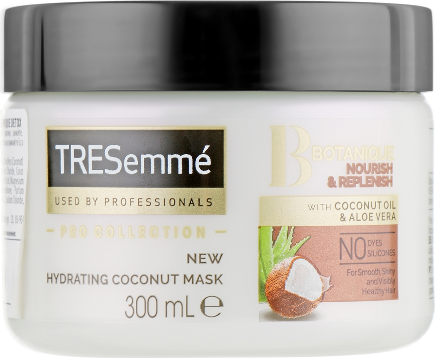 Маска для волос увлажняющая - Tresemme Botanique Nourish & Replenish Hydrating Coconut Mask