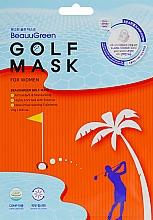 Духи, Парфюмерия, косметика Гольф маска для лица - Beauugreen Golf Women Mask Pack