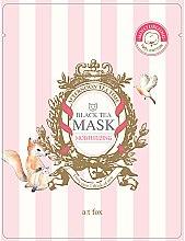 "Духи, Парфюмерия, косметика Маска для лица увлажняющая ""Black Tea"" - A:t fox Moisturizing Black Tea Mask"