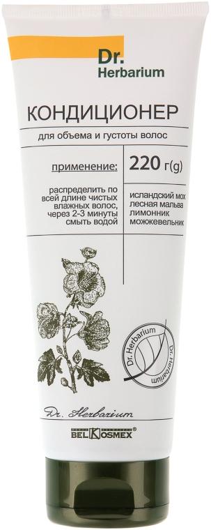 Кондиционер для объема и густоты волос - BelKosmex Dr. Herbarium