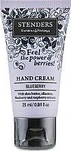 Духи, Парфюмерия, косметика Крем для рук - Stenders Blueberry Hand Cream