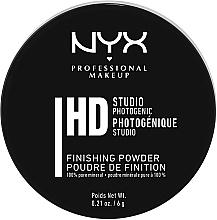 Парфумерія, косметика Фінішна мінеральна пудра - NYX Professional Makeup Studio Finishing Powder