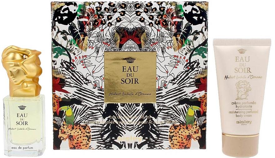 Sisley Eau Du Soir - Набор (edp/30ml + b/cr/50ml)