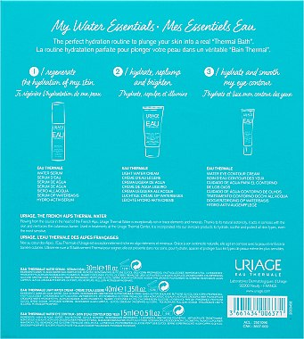 "Набор ""My Water Essentials"" - Uriage Eau Thermale (cr/40 ml+ser/30 ml+eye/cr/15 ml) — фото N6"