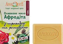 Духи, Парфюмерия, косметика Оливковое мыло с маслом розы и ромашки - Aphrodite Olive Oil Soap