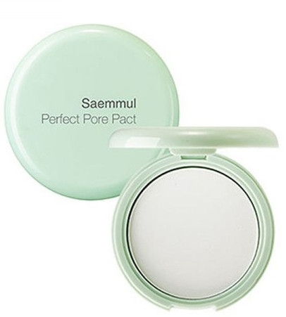 Пудра компактная для кожи с расширенными порами - The Saem Saemmul Perfect Pore Pact