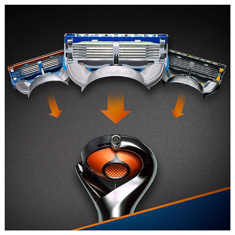 Бритва с 1 сменной кассетой - Gillette Fusion ProGlide Power Flexball — фото N6