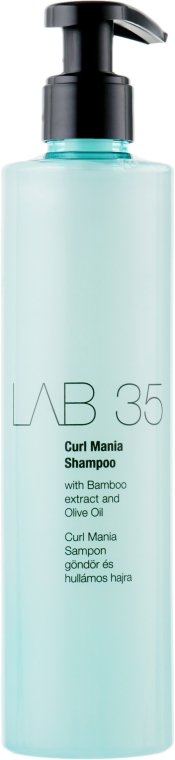 Шампунь для кудрявых и вьющихся волос - Kallos Cosmetics Lab 35 Curl Shampoo