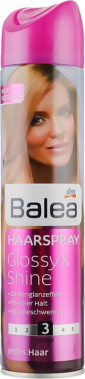 """Лак для волос """"Глянец и Блеск"""" - Balea Glossy & Shine №3"""