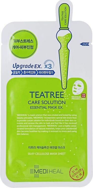 Успокаивающая тканевая маска - Mediheal Teatree Care Solution Essential Mask