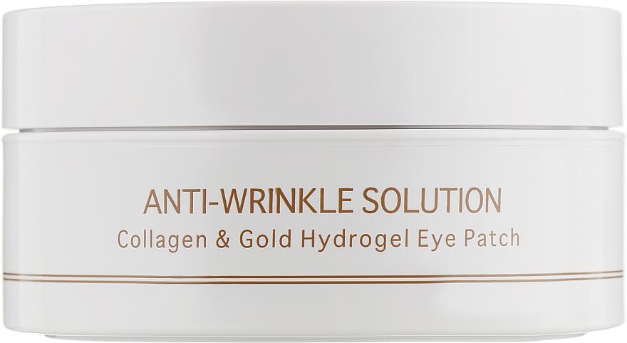 Гидрогелевые патчи для глаз с коллагеном и коллоидным золотом, стандартный размер - BeauuGreen Collagen & Gold Hydrogel Eye Patch