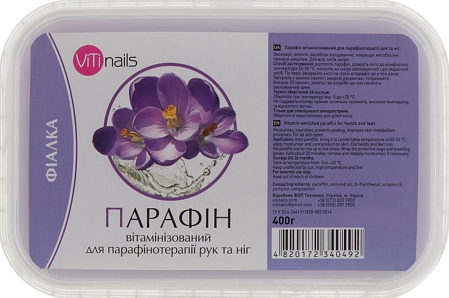 """Парафин витаминизированный """"Фиалка"""" для рук и ног - ViTinails"""