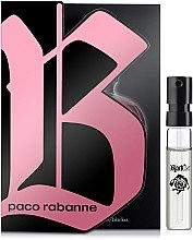 Духи, Парфюмерия, косметика Paco Rabanne Black XS Pour Femme - Туалетная вода (пробник)