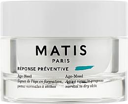 Духи, Парфюмерия, косметика Антивозрастной крем для нормальной и сухой кожи - Matis Reponse Preventive Age-Mood