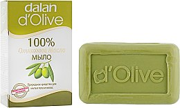 Духи, Парфюмерия, косметика Оливковое мыло - Dalan D'Olive 100% Soap Natural Cleanser For Body And Hair
