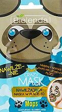 """Духи, Парфюмерия, косметика Тканевая детокс-маска """"Мопс"""" - Bielenda Crazy Mask 3D Mops"""