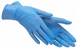 Духи, Парфюмерия, косметика Перчатки нитриловые синие, размер S - PRO service Standard