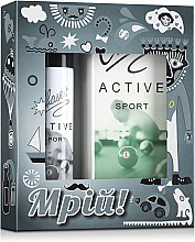 Духи, Парфюмерия, косметика Chaser Active Homme Sport - Набор (edt/100ml+deo/75ml)