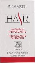 Духи, Парфюмерия, косметика Увлажняющий шампунь для укрепления и оздоровления волос - Bioearth Strengthening Shampoo (пробник)