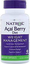 Духи, Парфюмерия, косметика Суперпродукты асаи и зеленый чай - Natrol AcaiBerry Diet