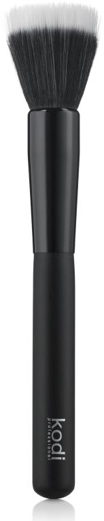 Кисть Duo Fibre большая для тональной основы и пудры №44 - Kodi Professional
