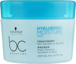 Маска-уход для волос увлажняющая - Schwarzkopf Professional Bonacure Hyaluronic Moisture Kick Treatment — фото N5